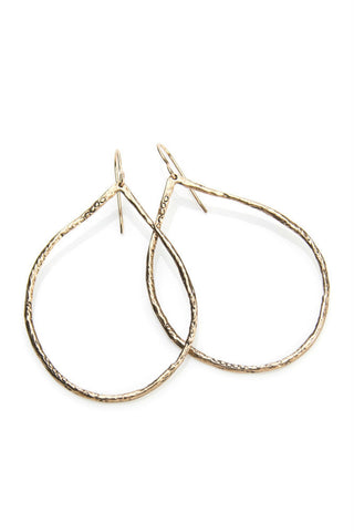Elk Metal Arc Earring