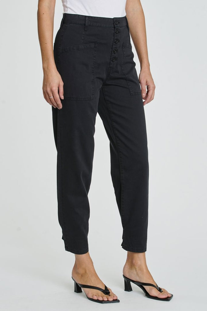 PISTOLA Tammy High Rise Trouser in Fade to Black