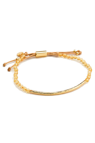 Betsy & Iya Sellwood Bridge Cuff Bracelet in Brass