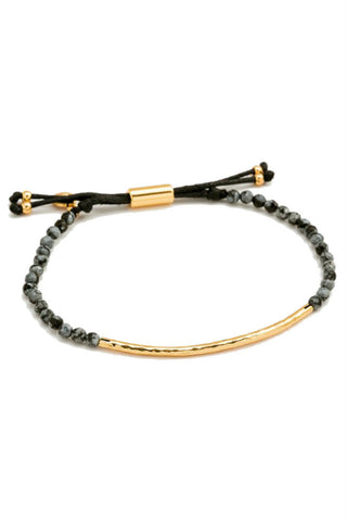 Gorjana Power Gemstone Bracelet in Clarity