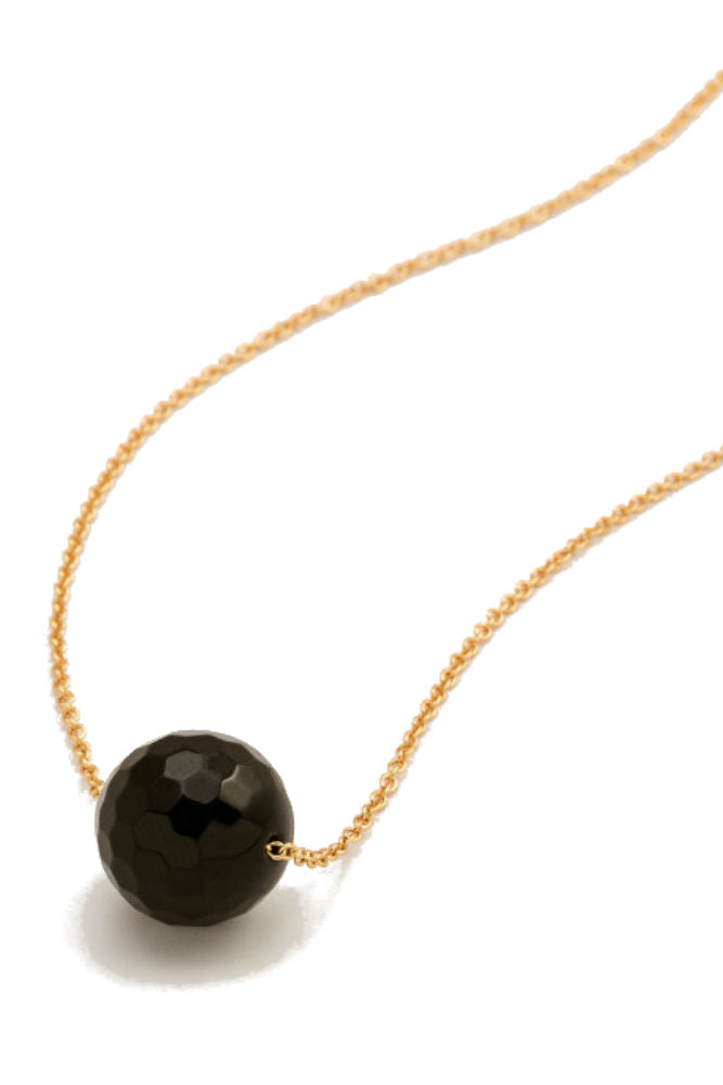 Gorjana Power Gemstone Bead Adjustable Necklace for Protection