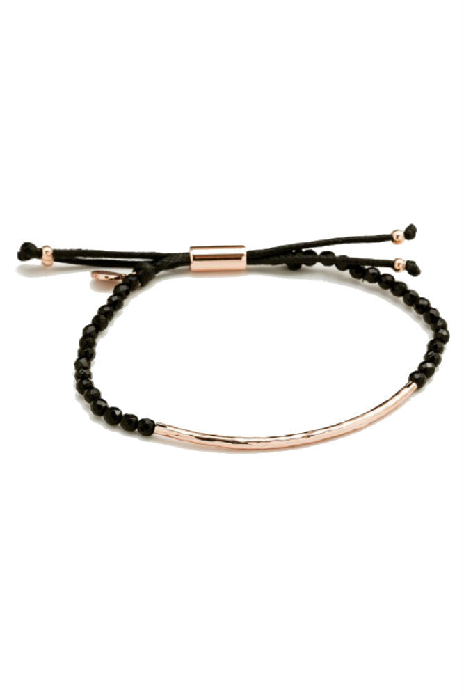 Gorjana Power Gemstone Bracelet in Protection Rose Gold