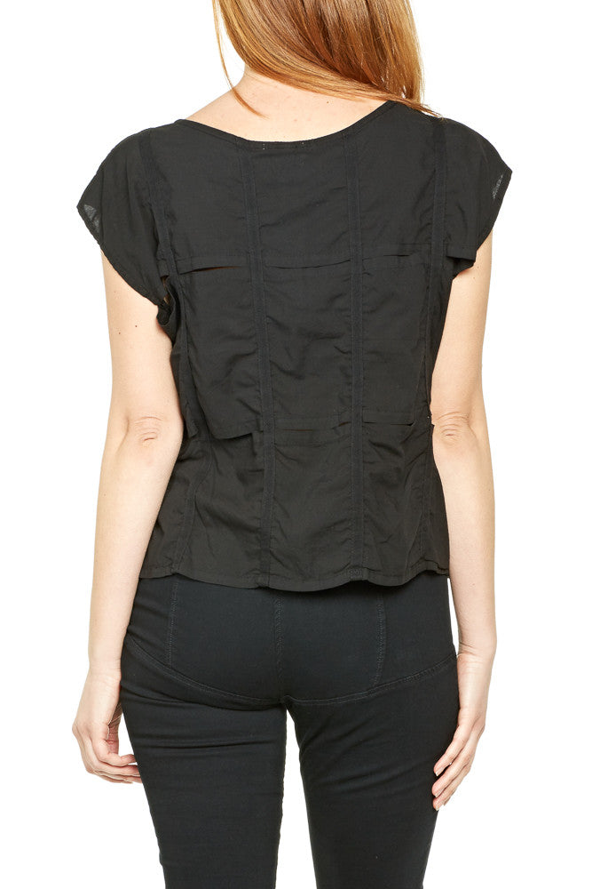Prairie Underground Crosswind Top in Black