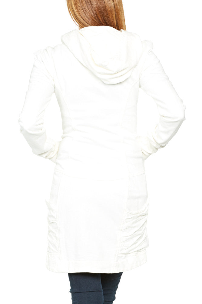 Prairie Underground Guinevere Hoodie in Optic White