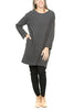Prairie Underground New Deal Dress in Graphite
