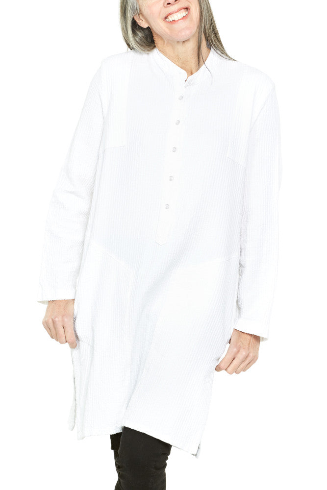Prairie Underground Outland Tunic in Optic White