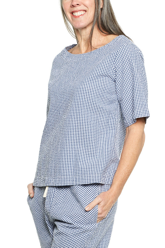 Prairie Underground Solo Shirt in Blue Gingham