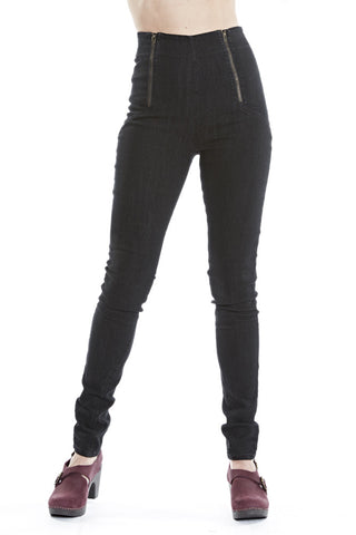 Prairie Underground Original Denim Girdle in Black