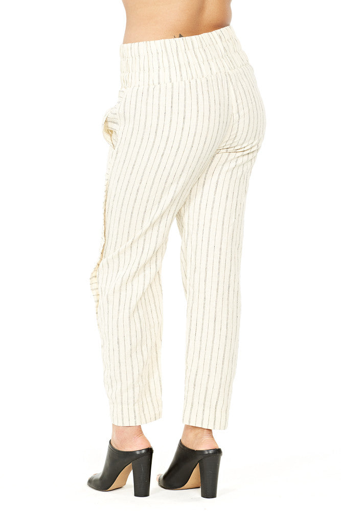 Prairie Underground Jaray Pant in Natural Stripe
