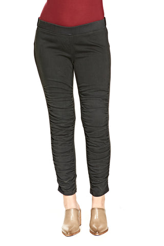 Hudson Barbara High Waist Super Skinny Ankle Raw Hem in Westbound