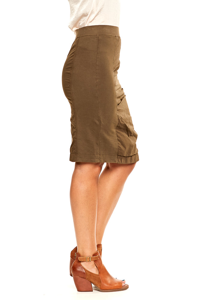Prairie Underground Motive Skirt in Dark Olive