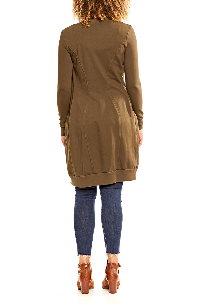 Prairie Underground Relay Dress in Dark Olive