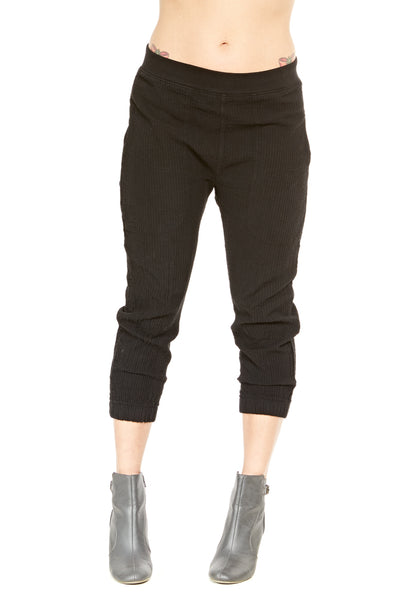 Prairie Underground Textured Jogger in Black