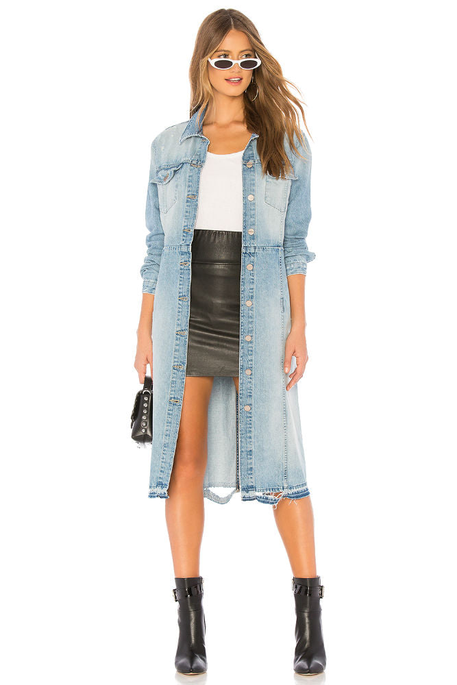 Sanctuary Ramsey Denim Duster