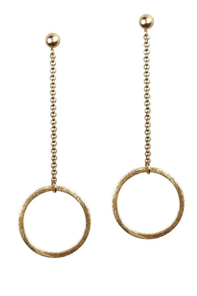 Grayling Ravello Drop Post Earrings Gold