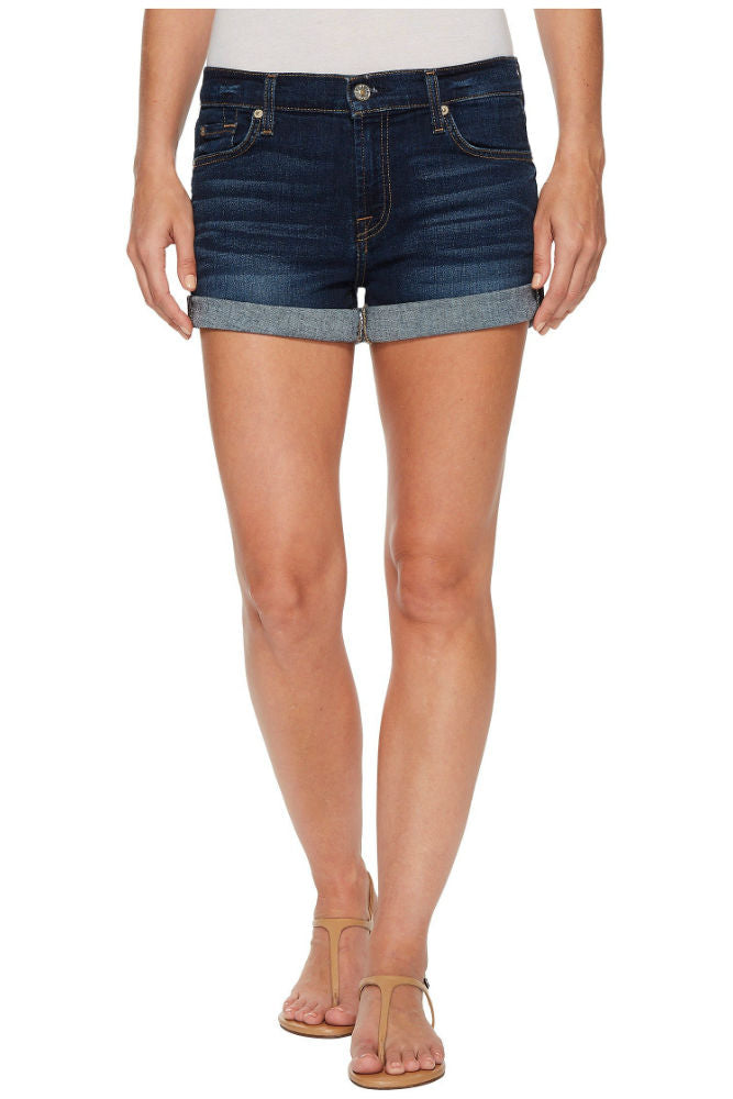 7 for All Mankind Relaxed Roll Up Short in Moreno