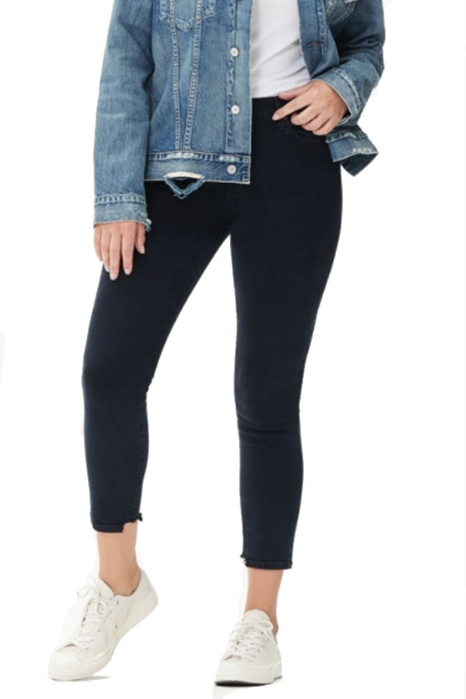 Citizens of Humanity Rocket Crop High Rise Skinny in Blue Print