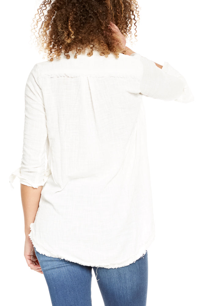 Rue Stiic Cicero Shirt in White