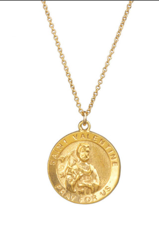 DOGEARED Saint Anthony Necklace