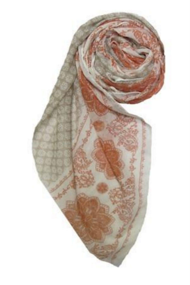 Subtle Luxury Sandy Lotus Scarf in Sand