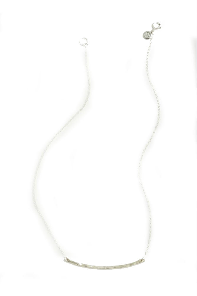 Gorjana Taner Bar Small Necklace in Silver
