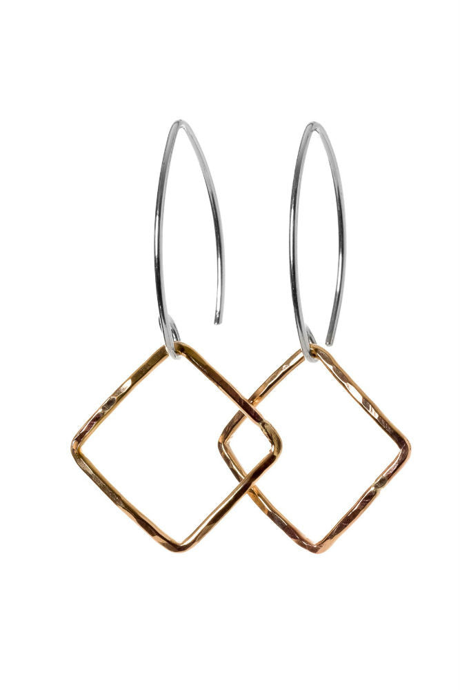 Kenda Kist Small Square Earrings