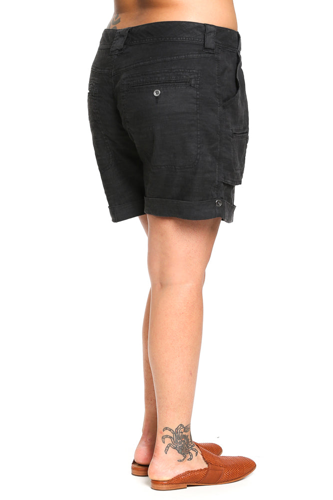 Splendid Cargo Shorts in Antique Coal