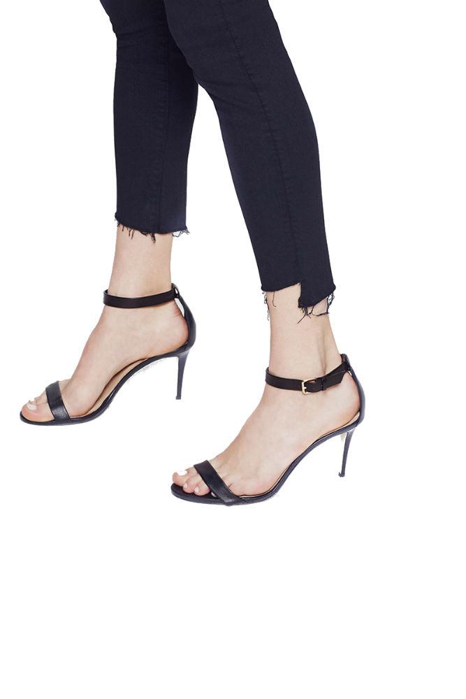 Mother The Stunner Zip Ankle Step Fray in Not Guilty
