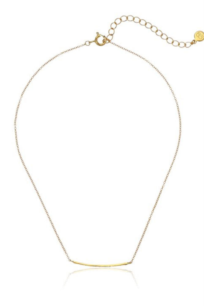 Gorjana Taner Bar Choker Necklace in Gold