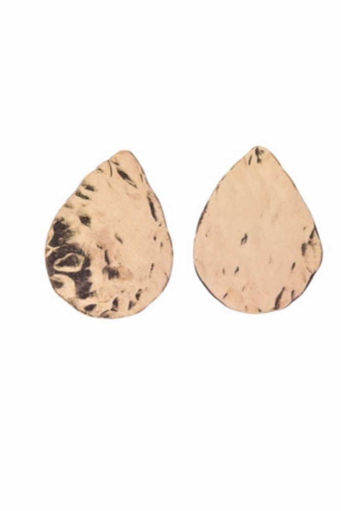 Kenda Kist Tear Drop Studs in Gold Filled