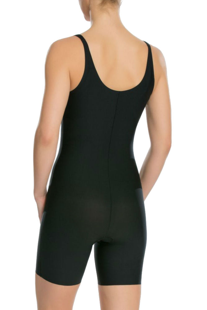 SPANX Thinstincts Open Bust Mid-Thigh Bodysuit