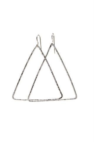 CHAN LUU Petite Hammered Earrings