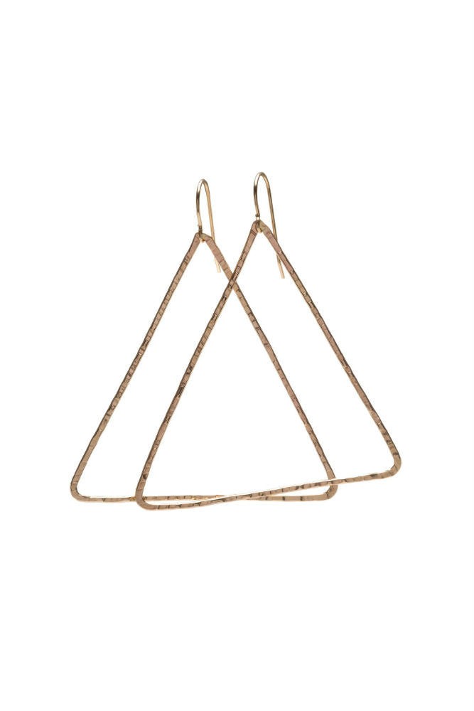 Kenda Kist Triangle Hoop Earrings