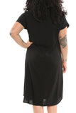 TYSA Travel Dress in Black