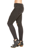 Unpublished Olivia High Rise Skinny in Black Hole
