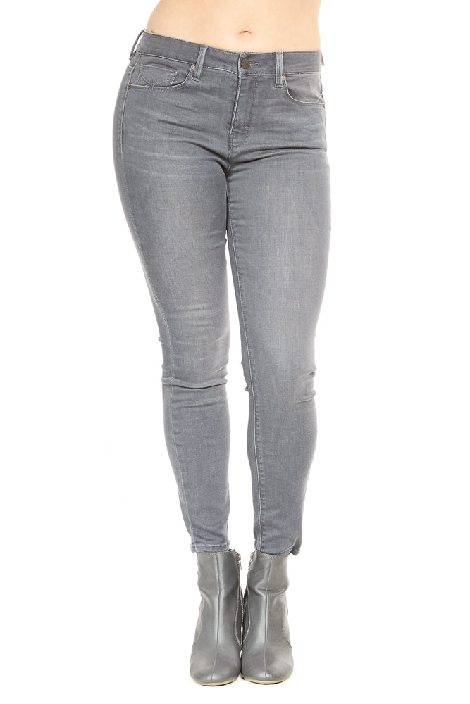 Unpublished Olivia High Rise Skinny in Gunmetal