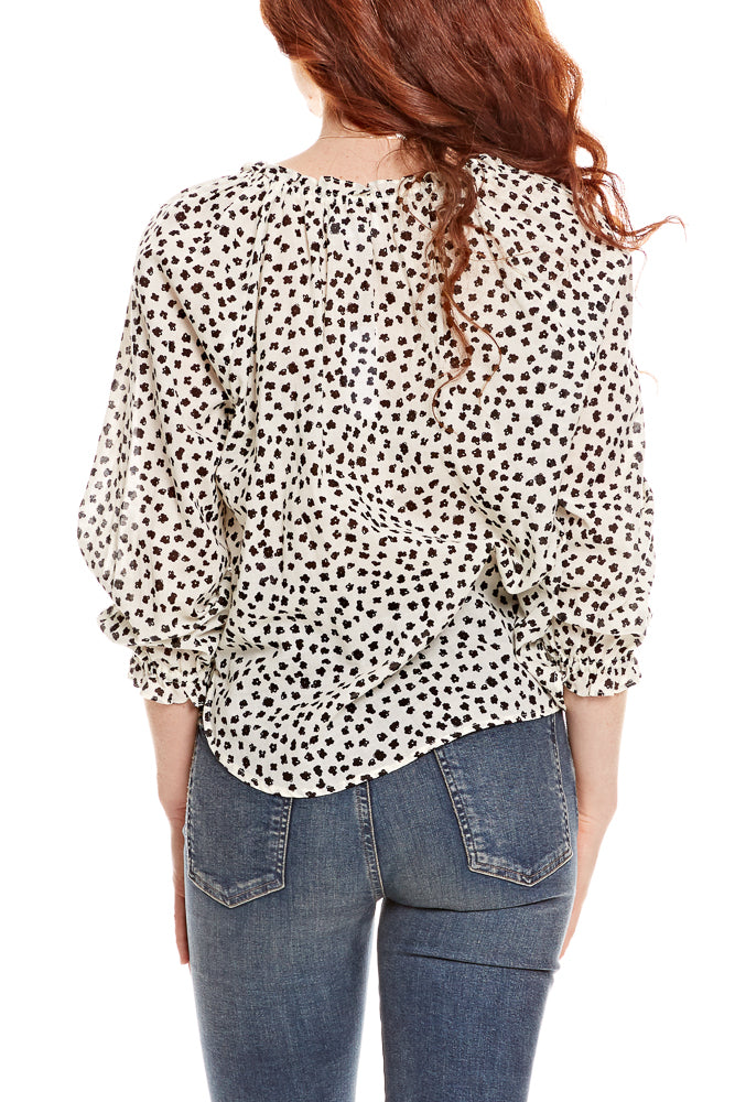 Velvet by Graham & Spencer Freya Peasant Top