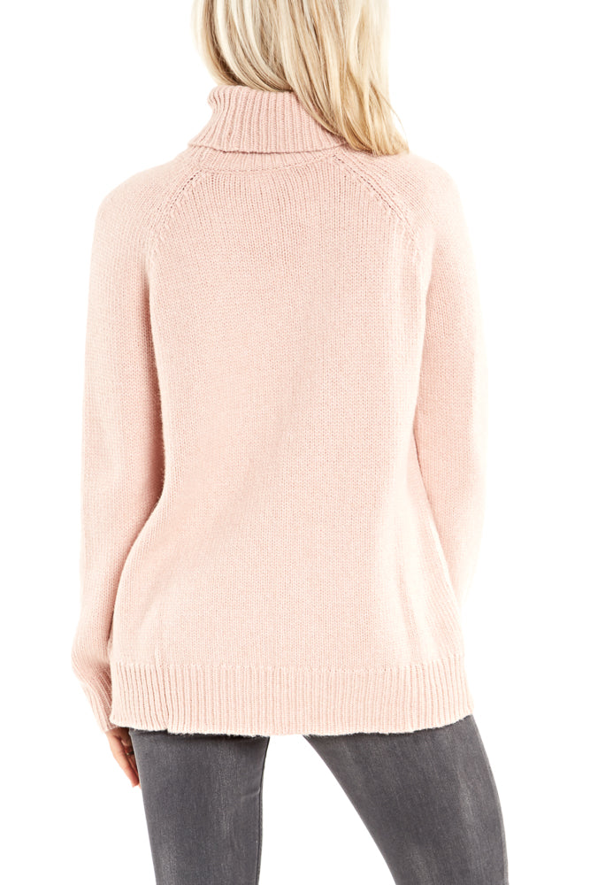 Velvet by Graham & Spencer Saphirra L/S Turtleneck Sweater in Plush