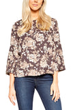 Veronica M. HD Boxy Flare Sleeve Blouse in Shawn