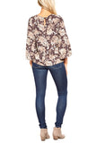 Veronica M. HD Boxy Flare Sleeve Blouse in Shawn - FINAL SALE
