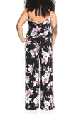 Veronica M. Tank Wide Leg Pantsuit in Christopher