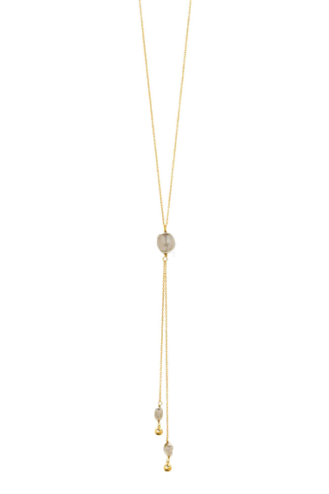Gorjana Vienna Adjustable Lariat Necklace