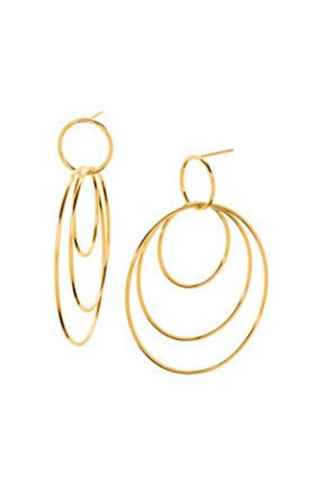 Gorjana Wilshire Earrings in Gold