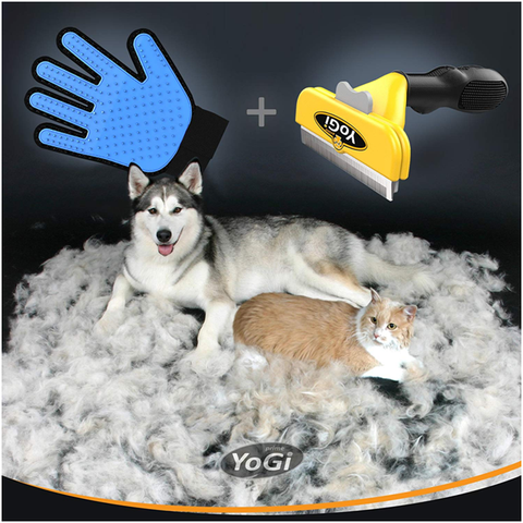 Cat brush for deshedding