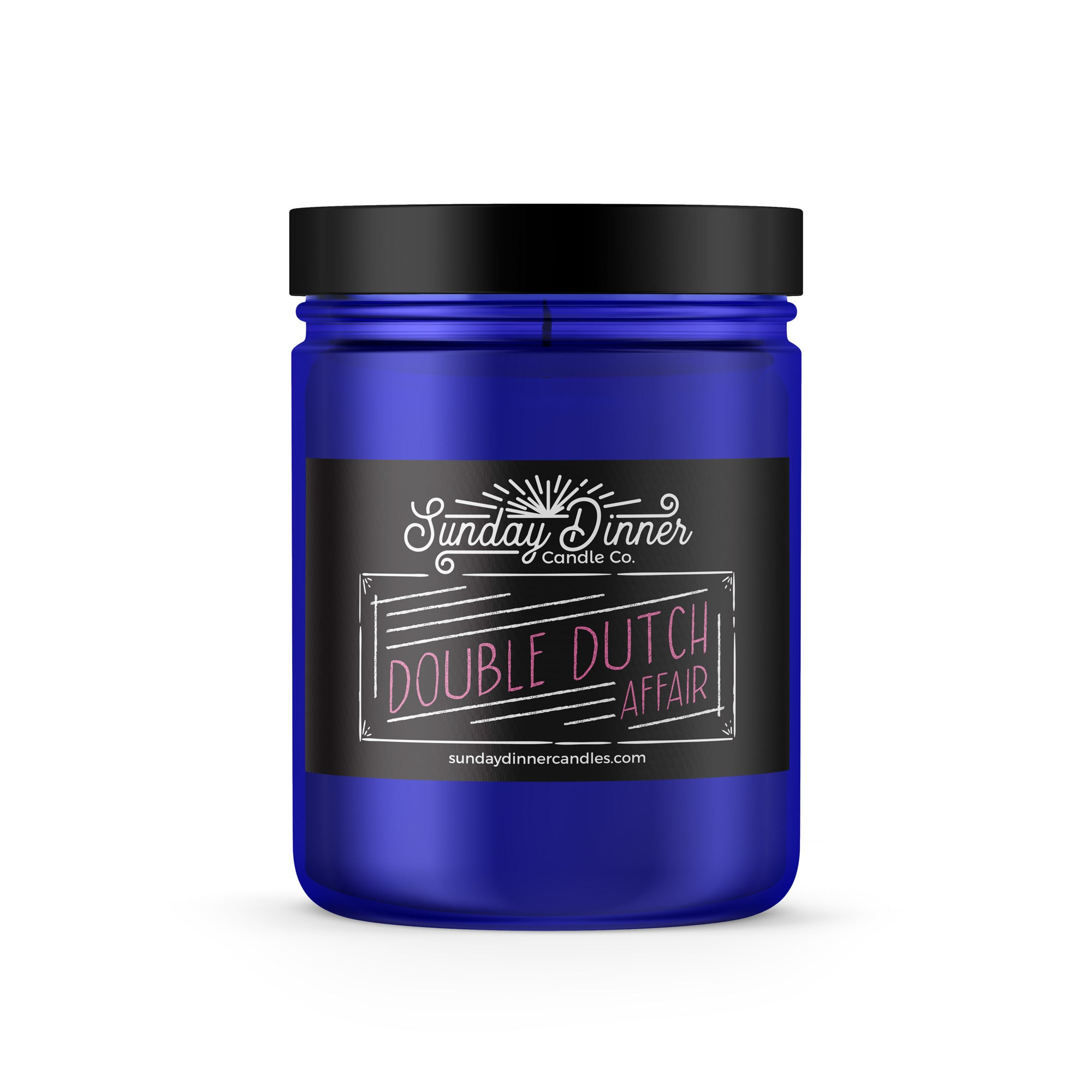 Double Dutch Affair Glass Jar Candle