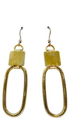 Gold Hoop Earrings - Irit Sorokin Designs Canadian handmade jewelry