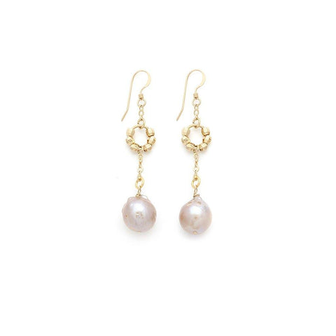 Pearl Earrings - Irit Sorokin Designs Canadian handmade jewelry