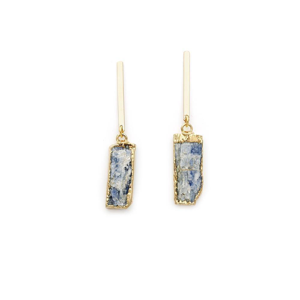Kyanite Earrings - Irit Sorokin Designs Canadian handmade jewelry