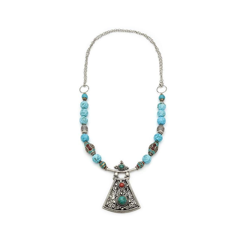 Nepalese Pendant Necklace