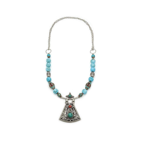 Nepalese Pendant Necklace - Irit Sorokin Designs Canadian handmade jewelry